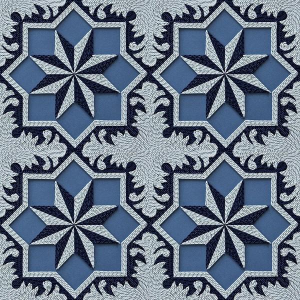 紙のカーペット!丸めて切った紙で繊細な模様を作るアート (16)