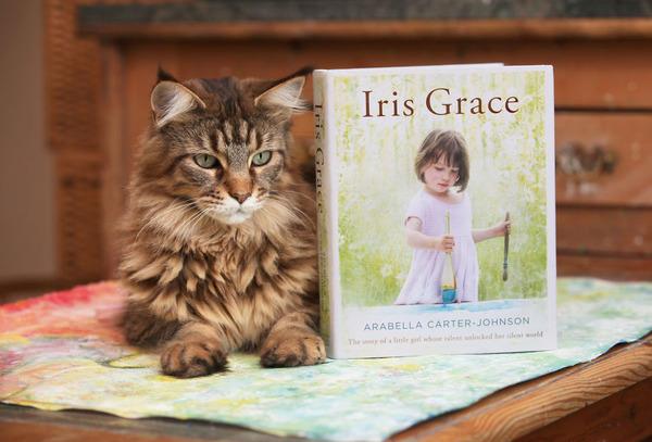 自閉症の6歳の少女が描く絵画が美しい! Iris Grace  (1)