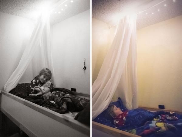ビッグなオリジナルベッド!家族7人が皆で一緒に眠れるベッド (6)