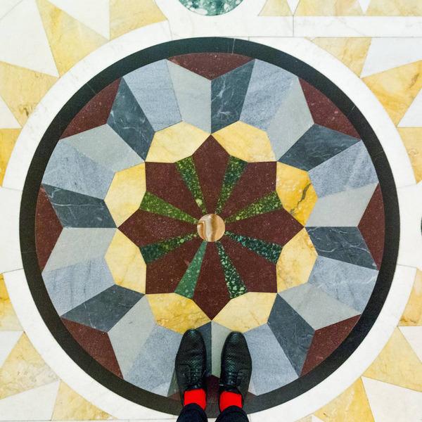 色んな床いっぱい。イタリア、ヴェネツィアの床のデザイン (15)