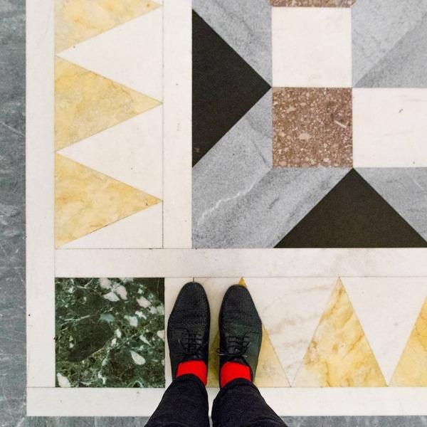 色んな床いっぱい。イタリア、ヴェネツィアの床のデザイン (7)