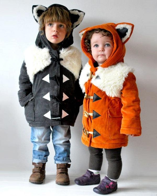 子供用の動物フード付きコートが反則的な可愛さ! (2)