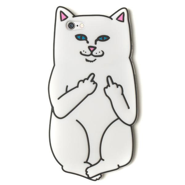 白いにゃんこが中指立ててる!挑発的な猫型スマホケース RIPNDIP (2)