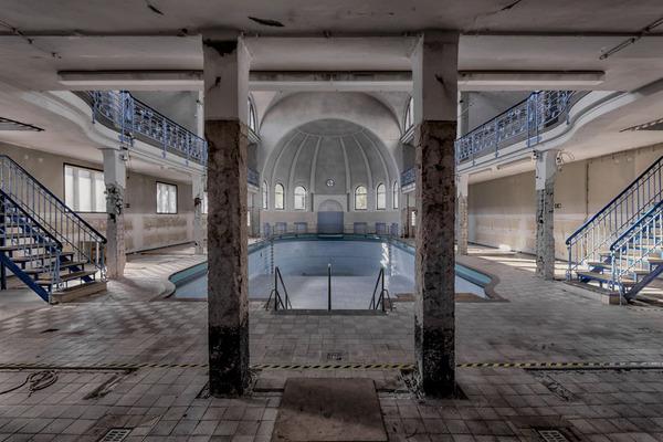 ヨーロッパの廃墟画像!寂れた建物の内観でメランコリック (8)
