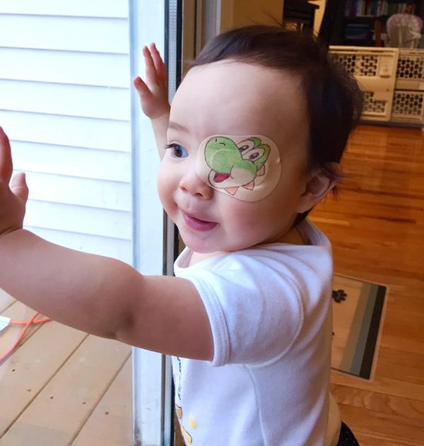 #11 眼帯が必要な娘のために最大限の努力をするお父さん 3