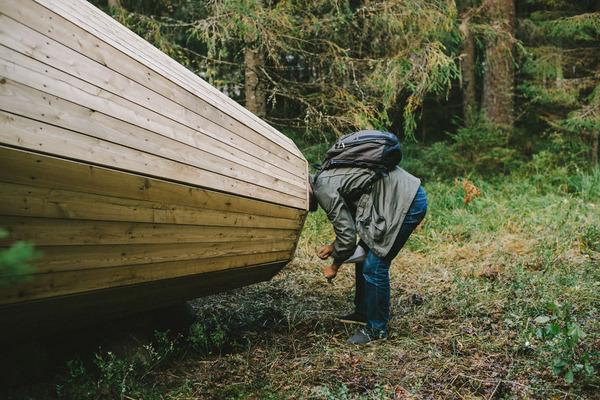 癒し効果がきっと一杯!森の音を聴く超大きなメガホン (4)
