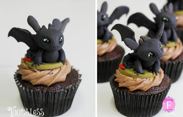 ドリームワークス・アニメーションのカップケーキ