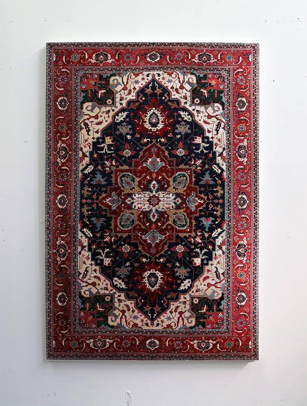 ゴージャスなペルシャ絨毯…を限りなく再現した絵画 (5)