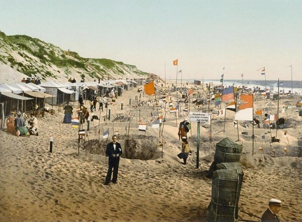 第一次世界大戦前のドイツの白黒写真をカラー化 (5)