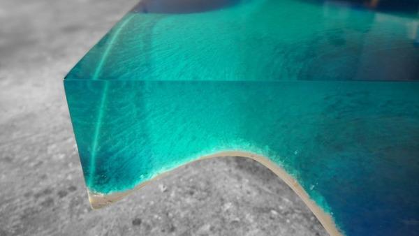 清涼感が半端ない!海からインスピレーションを得たテーブル (7)