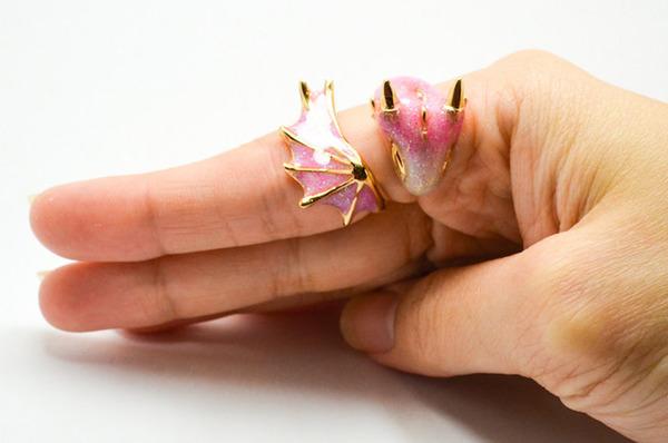 かっこかわいい。竜をモチーフにした指輪『ドラゴンリング』 (9)