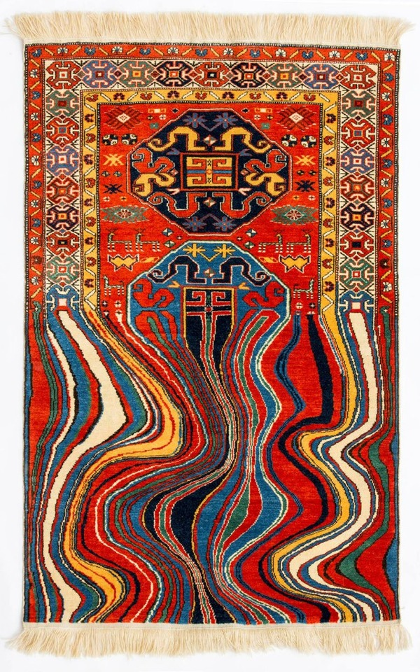 歪む、溶ける、飛び出す!不思議な形をした絨毯 (7)