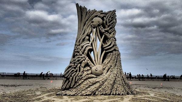 砂の彫刻コンテスト ハンプトン・ビーチ (16)
