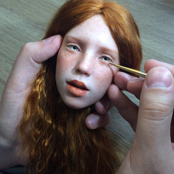 ロシアの超リアルな人形!本物の人間そっくり (17)