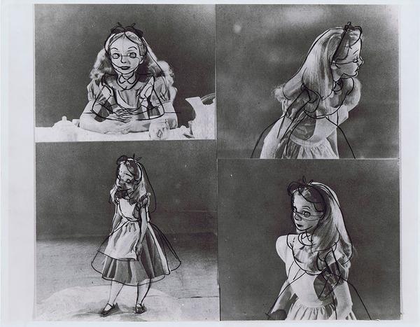 ディズニーアニメ『不思議の国のアリス』はこうして描かれていた (2)