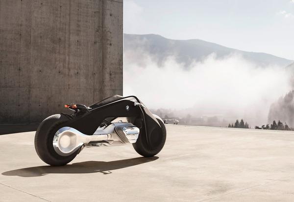 完全にSF!BMWのコンセプトバイク「VISION NEXT 100」 (9)