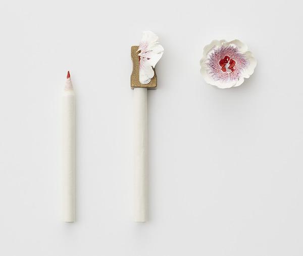 鉛筆削りの屑が美しい花となる『紙の花』 (5)