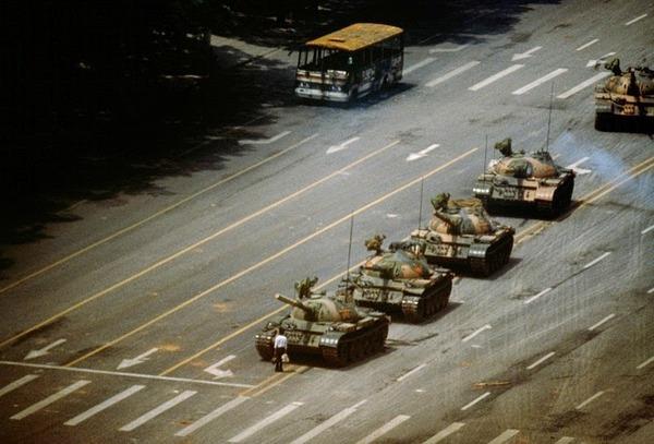 天安門事件,無名の反逆者,1989
