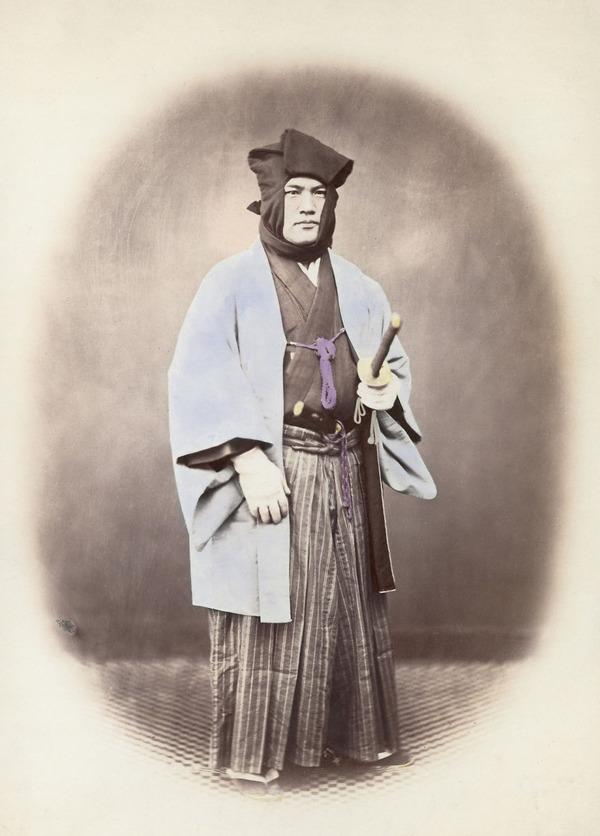 ラストサムライ…!19世紀、明治時代の侍の貴重な写真 (13)