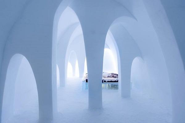 凍える寒さ!スウェーデンの氷の宿屋『アイスホテル』 (4)
