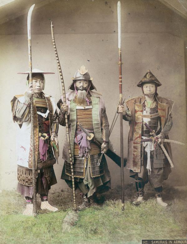 ラストサムライ…!19世紀、明治時代の侍の貴重な写真 (17)