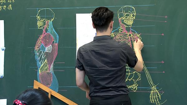 分かりやすい!デッサンスキルを生かした解剖学の授業 (2)