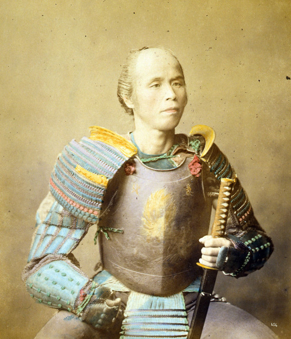 ラストサムライ…!19世紀、明治時代の侍の貴重な写真 (15)