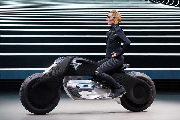 完全にSF!BMWのコンセプトバイク「VISION NEXT 100」 (7)