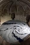 塩の迷宮。塩だけで作られた巨大な展示アート作品