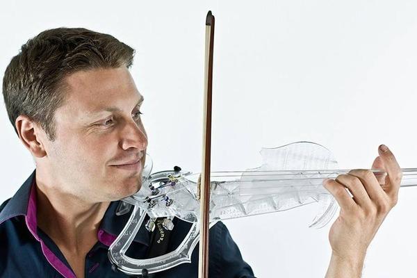 『3D VARIUS』3Dプリンタで製作!演奏できるエレキバイオリン (2)