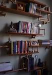 スチームパンクっていいよね。真鍮、銅、金属部品で作る家具