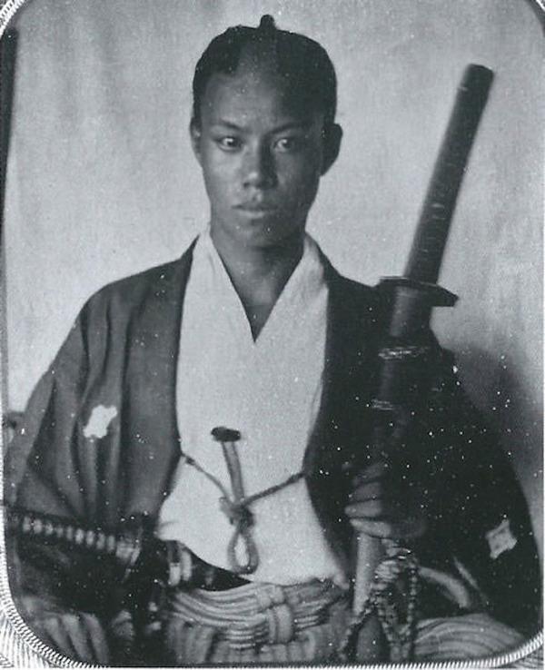 ラストサムライ…!19世紀、明治時代の侍の貴重な写真 (9)
