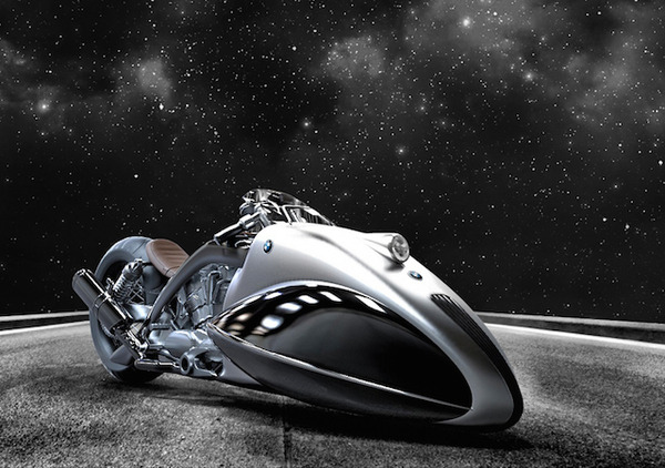 BMW Apollo Streamliner Motorcycle Concept 5
