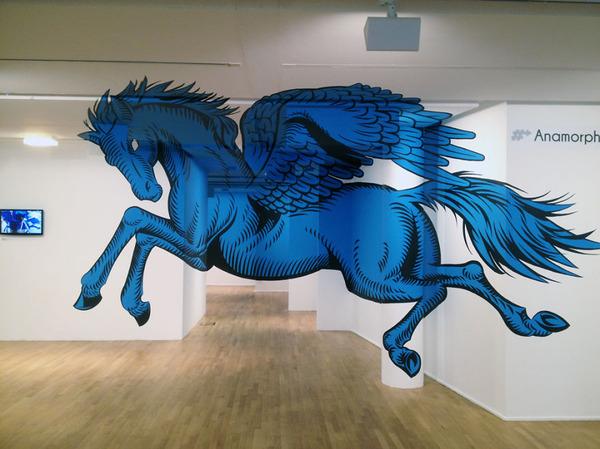 立体的なグラフィティアート!アナモルフィックで3Dな壁画 (10)