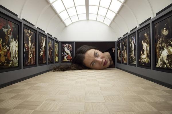 ミニチュア美術館を観に来たらアートの一部になっちゃった人達 (11)
