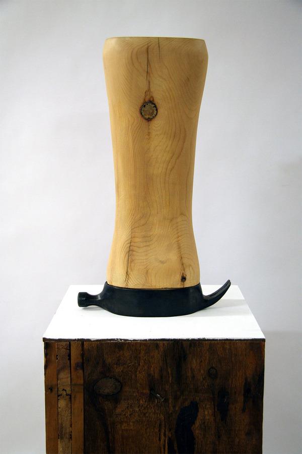 長い…とてつもなく長いよ!物の形を変形させた彫刻作品 (7)