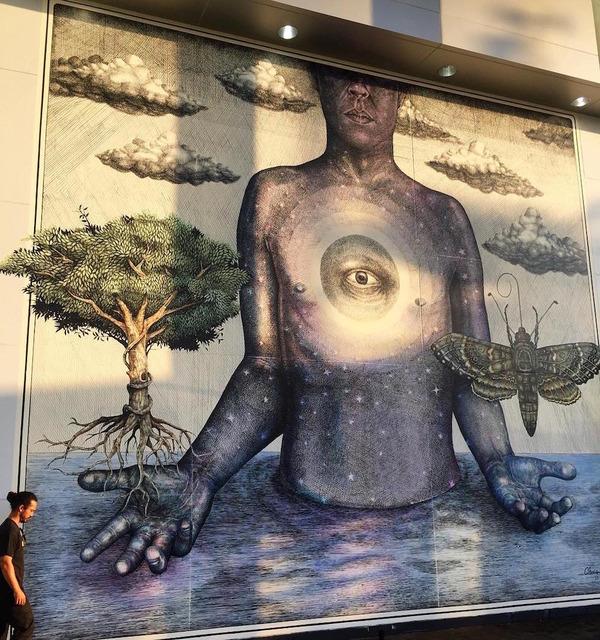 スピリチュアル…。生と死を描いた壁画アート (4)
