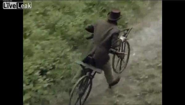 ペダルが付いていない自転車