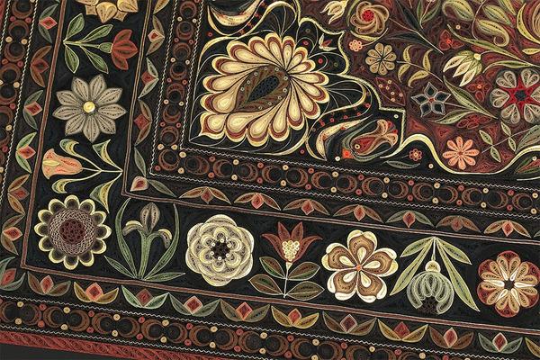 紙で作られた絨毯など、超大作なペーパークイリングアート! (2)