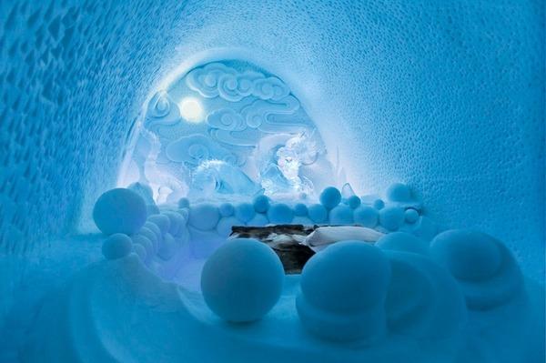 凍える寒さ!スウェーデンの氷の宿屋『アイスホテル』 (8)