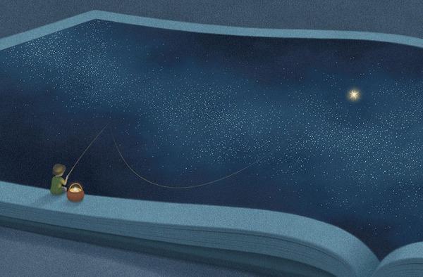 色んな本の形。本をモチーフにしたイラスト (7)
