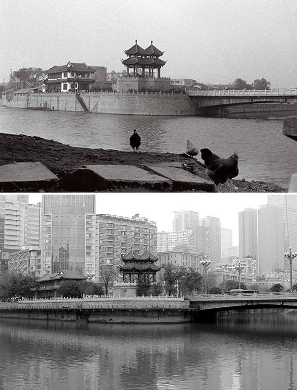 発展した中国の都市風景を比較!過去と現在の画像100年 (11)