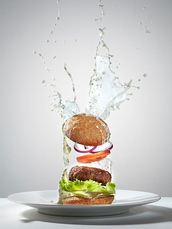 躍動する料理や食べ物の画像 (4)