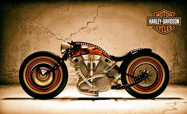 Custom Harley Davidson 3