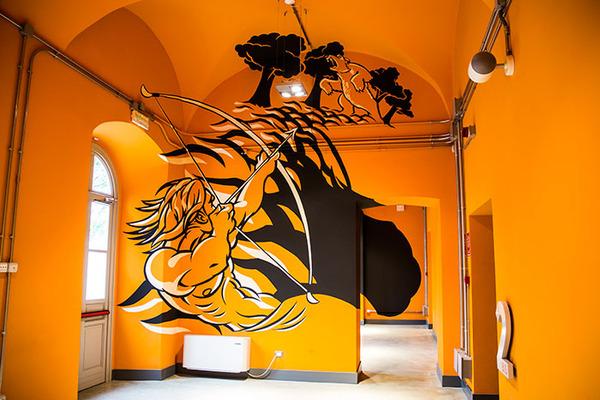 立体的なグラフィティアート!アナモルフィックで3Dな壁画 (1)