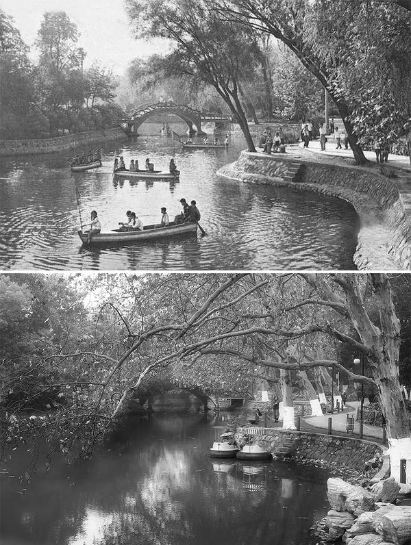 発展した中国の都市風景を比較!過去と現在の画像100年 (16)