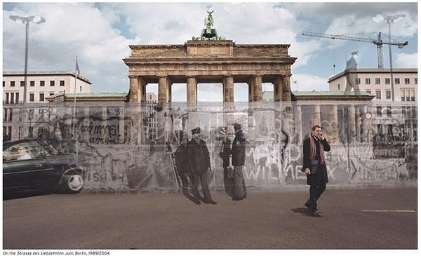 時代があった!歴史的な写真と現代を重ねあわせた写真 (4)