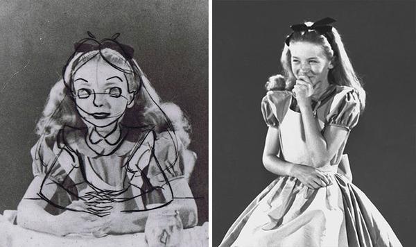 ディズニーアニメ『不思議の国のアリス』はこうして描かれていた (1)