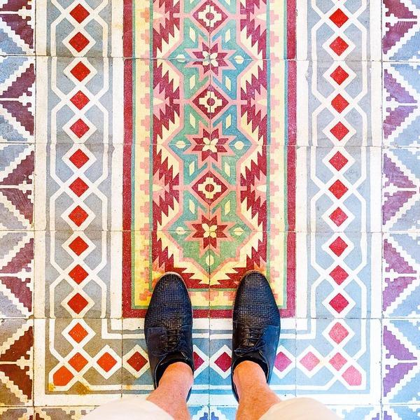 パリは床もお洒落だった!足元に広がる様々なデザインパターン (12)