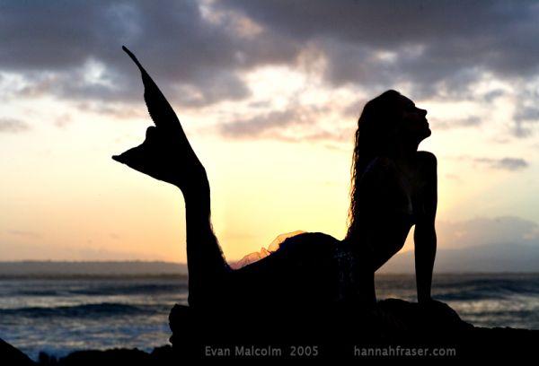 人魚のようなハンナ・フレイザー(Hannah Fraser) 3